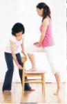 日常生活の中に少しずつ運動をとりいれてください。