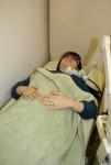 内臓機能低下および関連痛の疑い