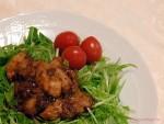 簡単焼豚風やたれを工夫した野菜の豚肉巻きをご紹介します