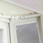 出窓用カーテンレール