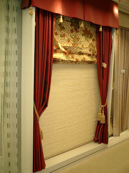 カーテンでお部屋が変わります