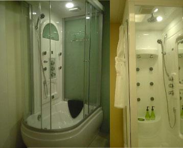 シャワーブースの設計施工