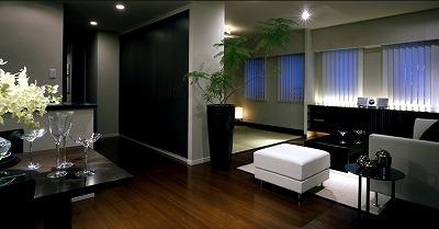 リビング空間の畳スペースについて