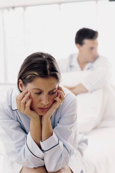 うつ状態と離婚