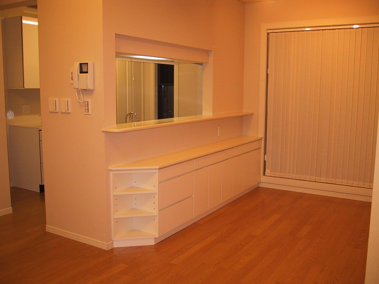 家具の配置と収納