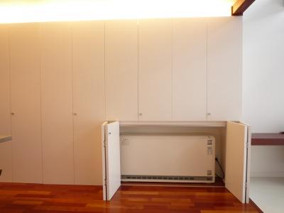 私も蓄熱式暖房機を採用しております。