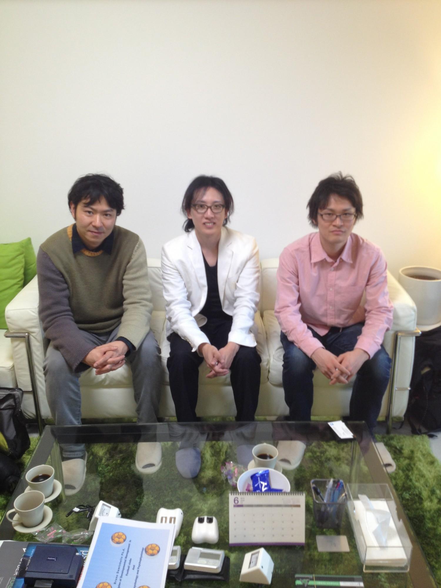テレビ東京「FOOT×BRAIN」様との番組打ち合わせ