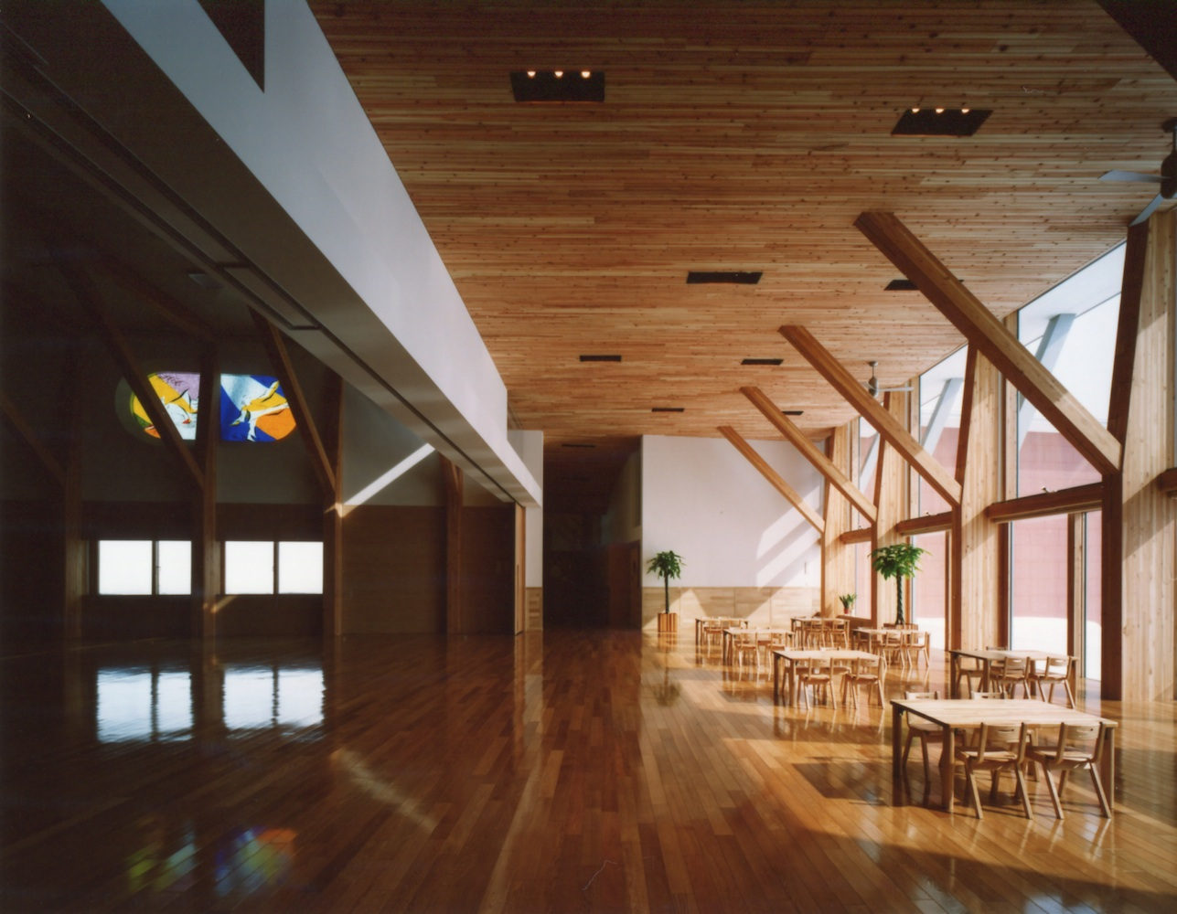 作品が完成しました   :「北海道・東聖花の森保育園」