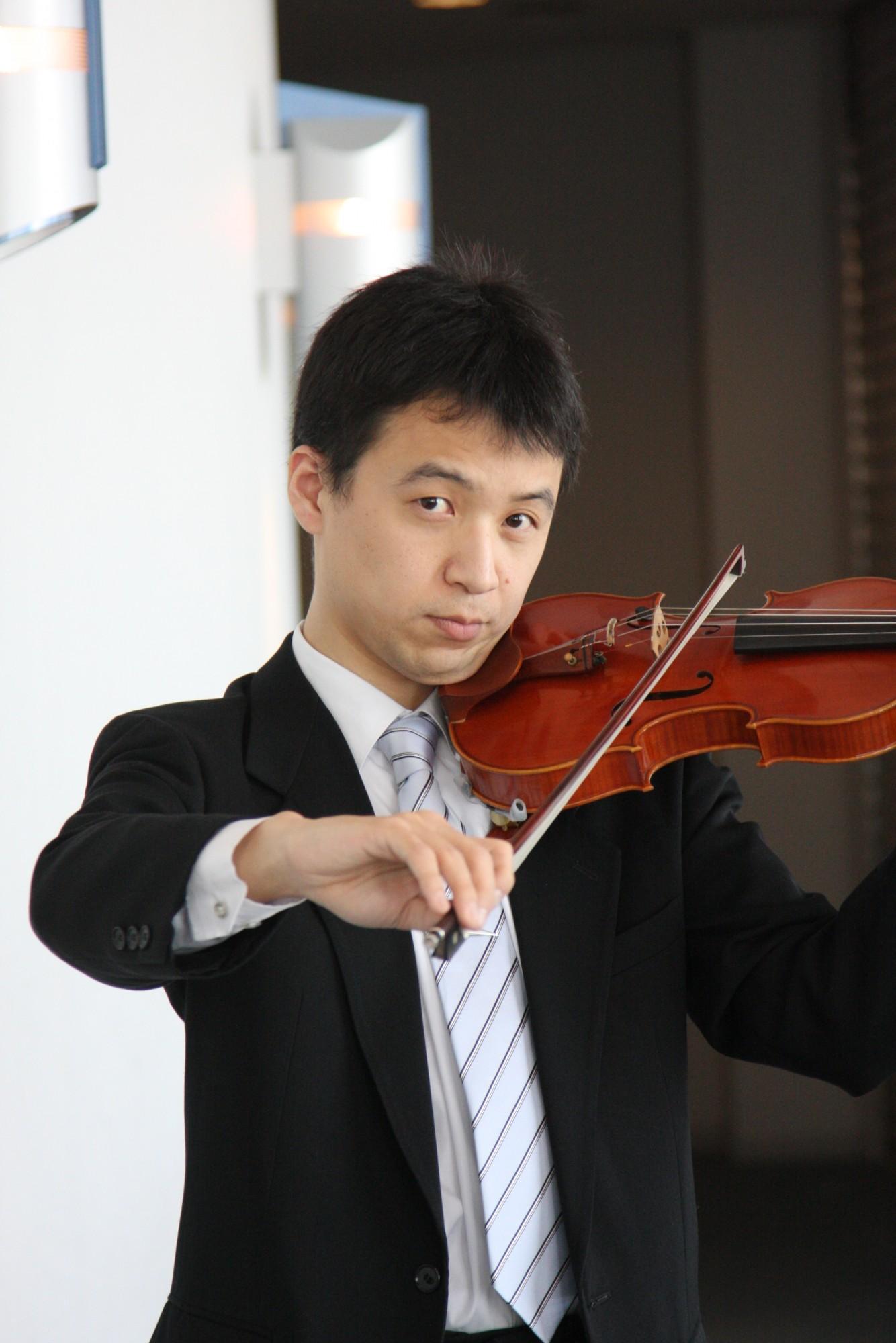 心を癒すバイオリンとピアノのコンサート
