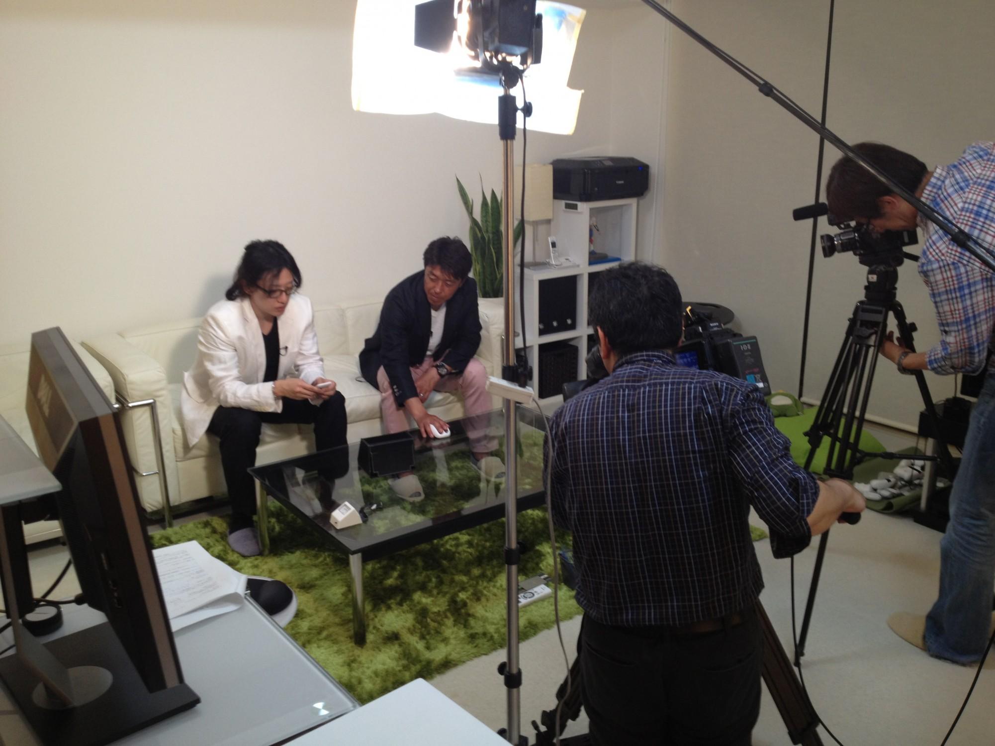 静岡朝日テレビ「スポーツパラダイス」様 テレビ取材