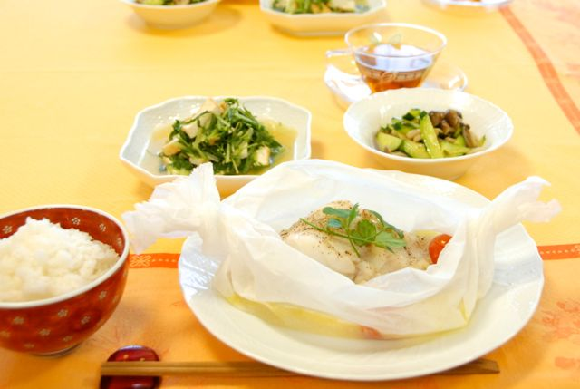 ささっと出来る美味しいお魚料理が大好評♩お魚料理レッスン