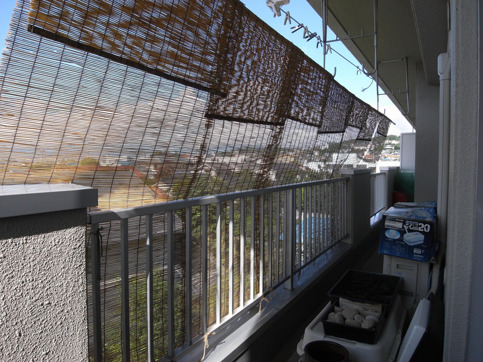 コンクリートは熱を蓄えて、夜までジワジワ熱を発するから、外に居るより暑いのです。