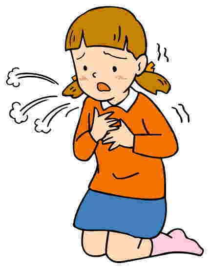 秋から冬にかけては、せき喘息になりやすい!