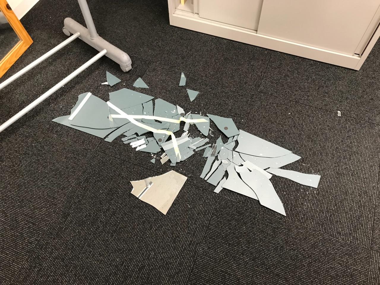 大地震発生しました