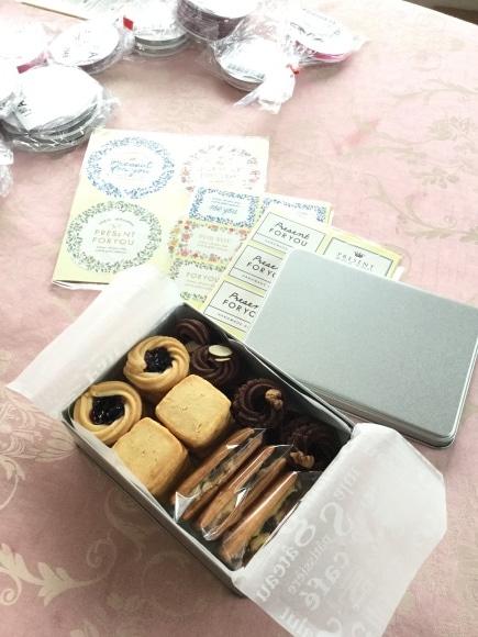 クッキー缶レッスン@応用クラス