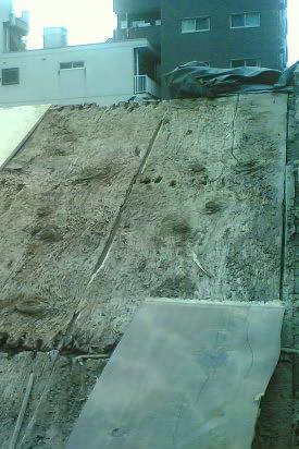 蔵の屋根修理