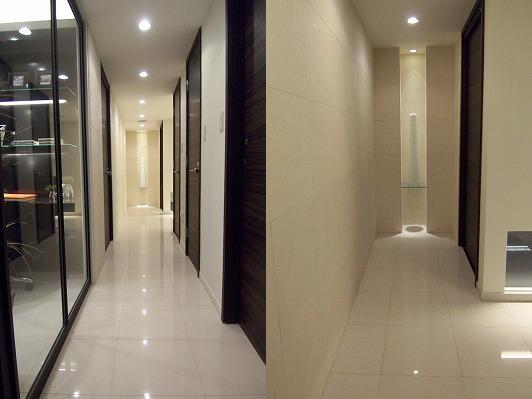 美しい廊下は贅沢空間になる
