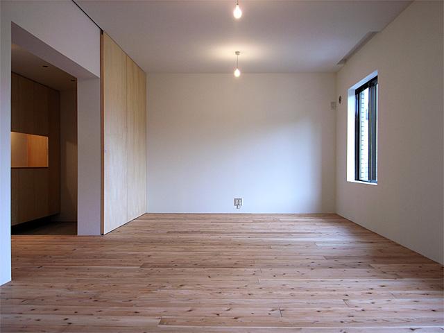 可変性をもたせた大きな部屋