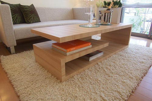 リビングテーブルのデザイン