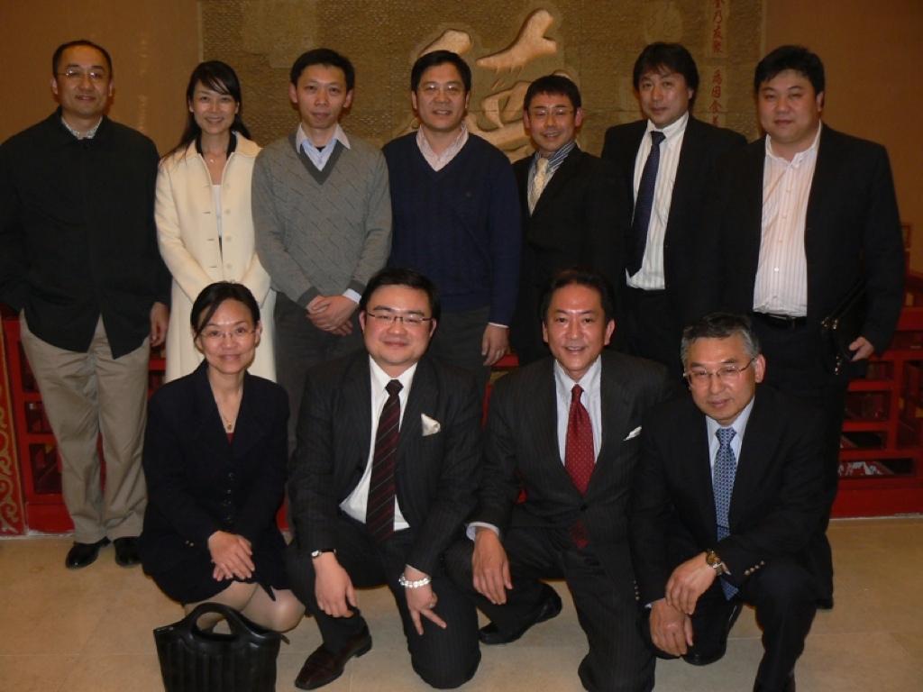 月曜日は北京からのお客様でした。