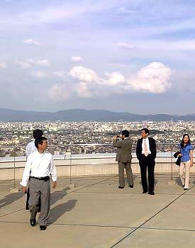 ローム記念館の屋上