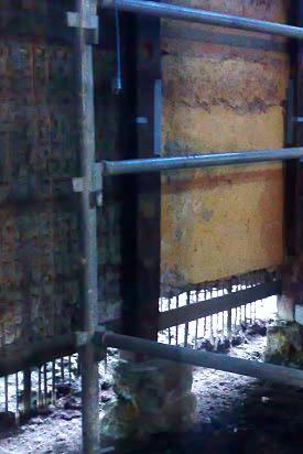 京町家・町屋 側柱の足元の仕舞