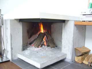 軽井沢町・Tさんの家2 暖炉
