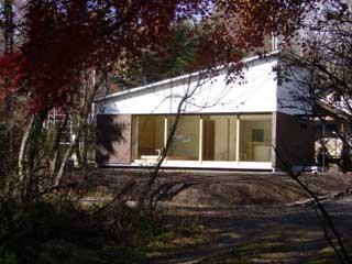 軽井沢町・Nさんの家 外観