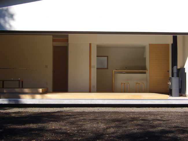 軽井沢町・Nさんの家 リビング