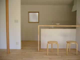 軽井沢町・Nさんの家 キッチン
