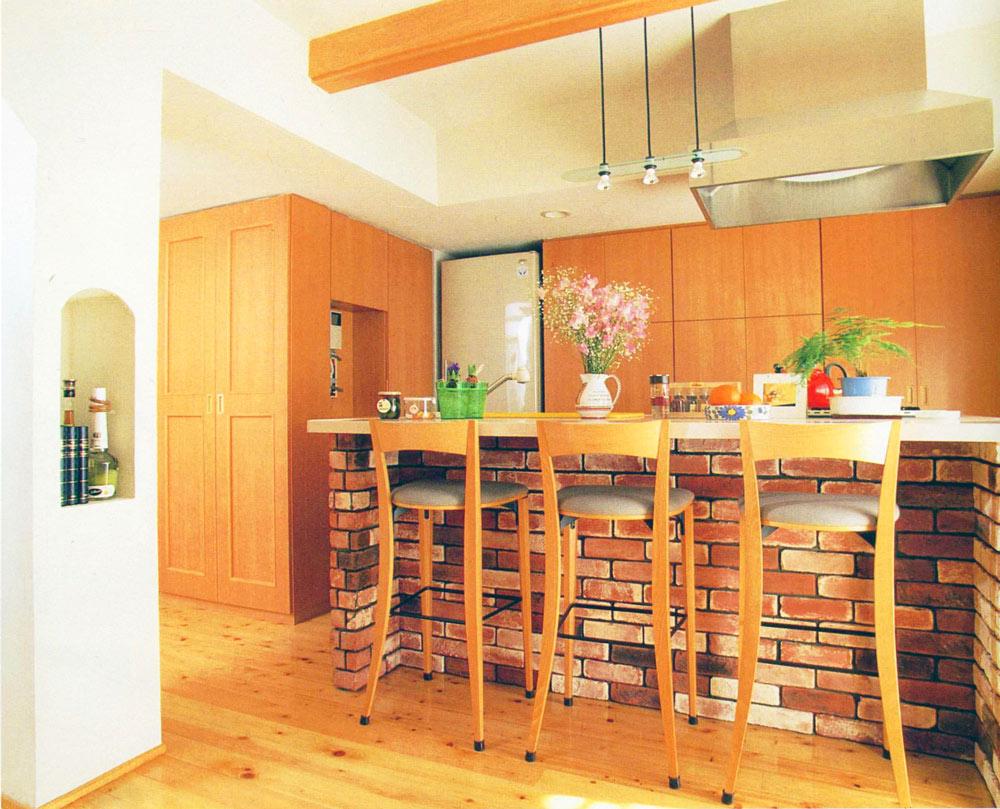 キッチン 家族の食の好みで収納を考える