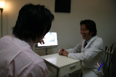 歯医者にポジティブに。