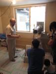 板橋区大原町/昨日は気密測定を行いました。