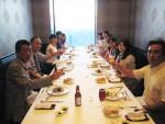 18日は弊社創立記念のお食事会を行いました。