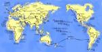 地図の話(1)大学生に世界地図を描いてもらった