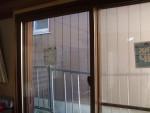 障子タイプの内窓つきました。