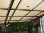 20年超のカーポート屋根