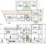 敷地面積の有効活用 高さ10mの都市型集合住宅(2)
