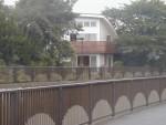 東京都MI邸の南側外観