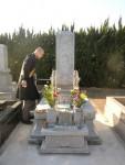 墓地移設に伴う御霊の入れ替えを行って来ました。