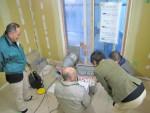 豊島区千早3丁目/昨日は気密測定を行いました。