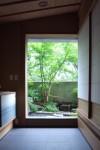 庭園と建築 額縁効果