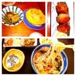 弘前での食事