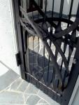 アイアンでつくった、特注門扉。