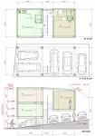 狭小地での集合住宅・鉄骨造による計画案