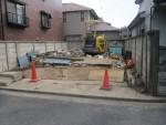 赤塚/御建て替え、これまでのお住まいの解体工事がほぼ終了です