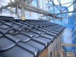 板橋区赤塚新町3丁目/一部に和瓦を使用しております。