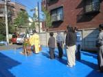 板橋区赤塚2丁目/A様邸 地鎮祭を行いました。