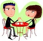 お見合・交際での食事会は結婚生活のイメージ判定