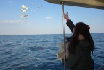 海洋散骨体験に行ってきました その2